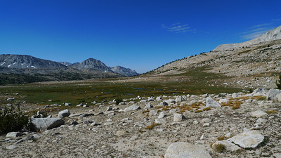 Approaching Pine Creek Pass trail.