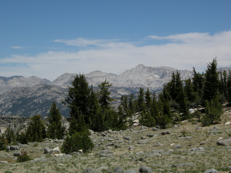 With killer views!<br /> <br /> Here is Mt Conness and Hoover Wilderness Peaks