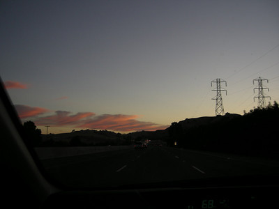 A good scenic start to the weekend - sunrise on 680