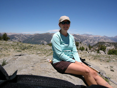 Me at Ten lakes Pass