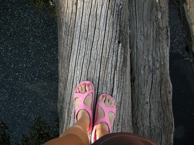 My Waldies Arubas - camp shoe of choice this summer