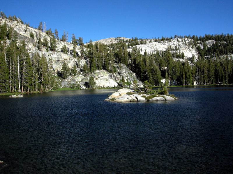 At the first of the Ten Lakes