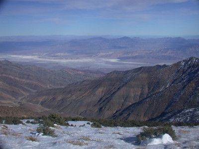 View of the Valley from wildrose peak