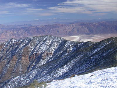Views toward Death Valley from Wildrose