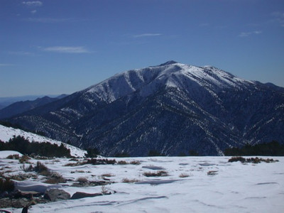 Telescope Peak from Wildrose Peak