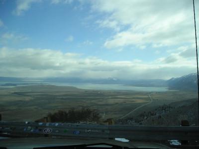 Overlook of Mono Lake