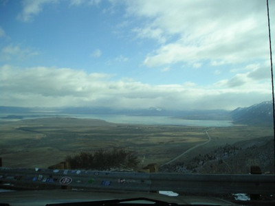Overlook of Mono Lake