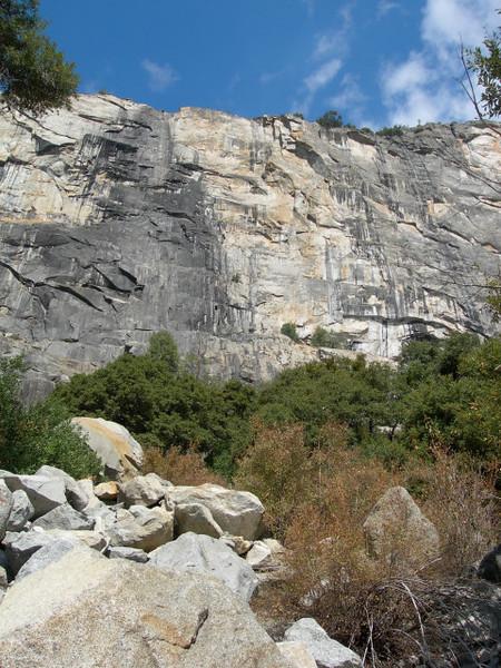 The dry Tuellala Falls