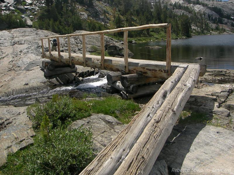 Bridge at Garnet Lake