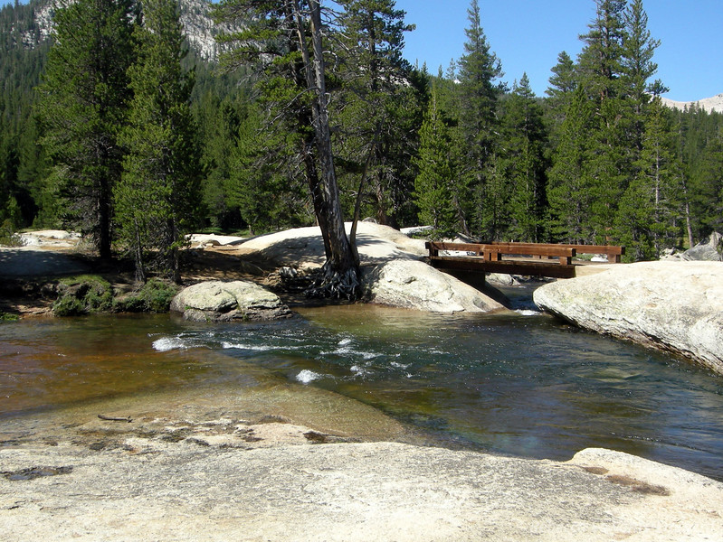 Lyell fork of the Tuolumne River - my first favorite place along the trail