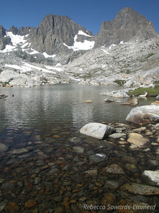 Second Nydiver Lake and Ritter/Banner