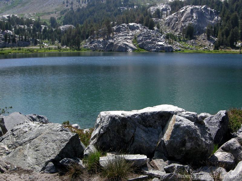 Shores of Lake Ediza