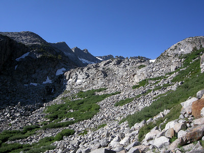 We'll be heading up there on our way to Donohue Pass