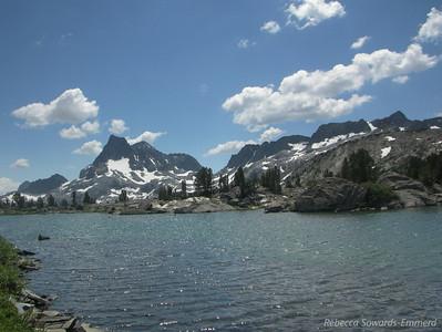 The Ritter Range from Island Pass.