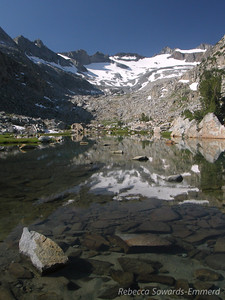 Range and unnamed lake