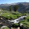 Snowmelt-fed creek