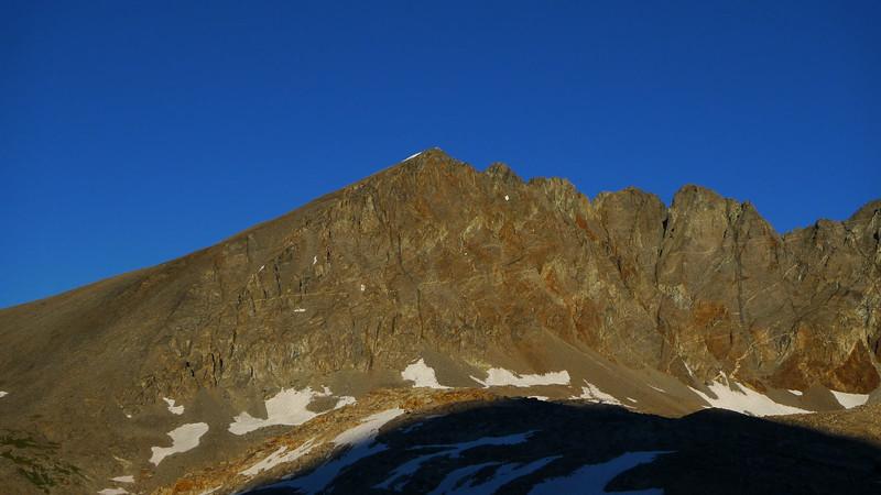 Split Mountain. 14,058 feet.
