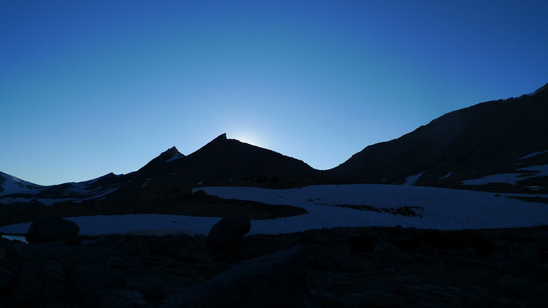 Mather Pass from camp