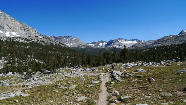 Looking south from Upper Basin.