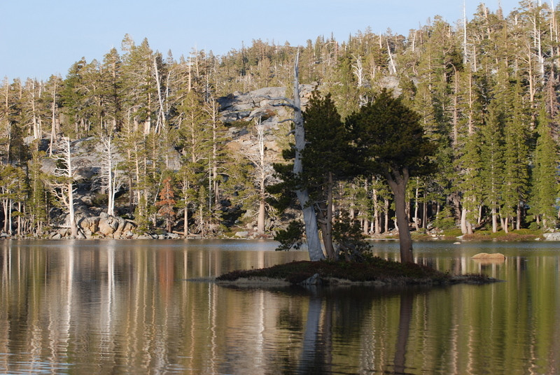 Island in Upper Velma Lake<br /> <br /> Photo by Dave