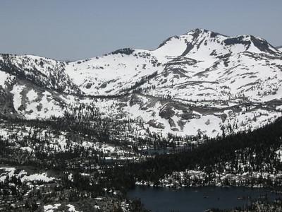 Middle Velma, a peak of Upper Velma, and Dicks Peak