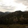 Looking west towards tomorrow's destination, Trail Peak.