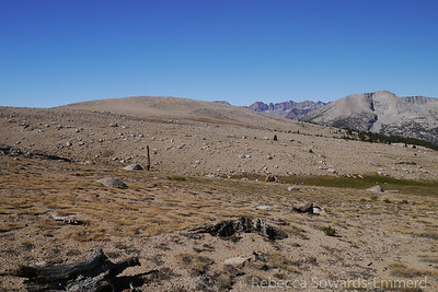 This barren place is Bighorn Plateau, another stunning spot along the southern JMT.
