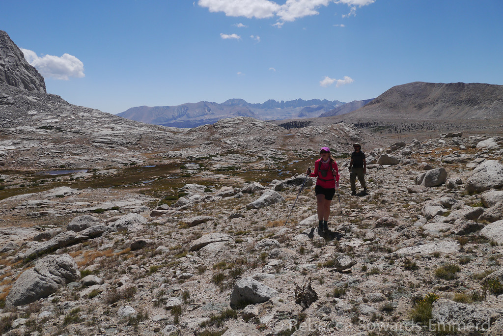 Pavla and David in Wright Lakes Basin.