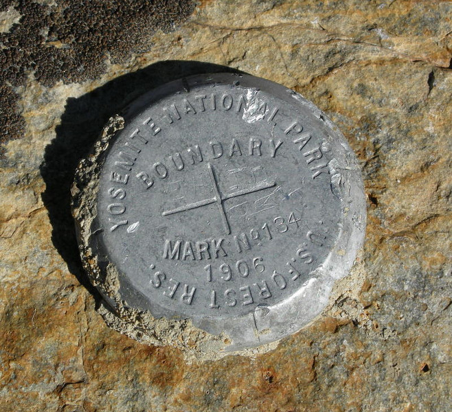 Yosemite Boundary Benchmark<br /> <br /> We spent most of today just outside of the park boundary in Ansel Adams Wilderness