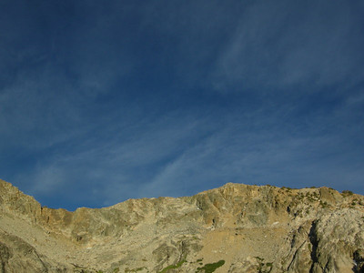 Whispy Clouds  Upper Chain Lake