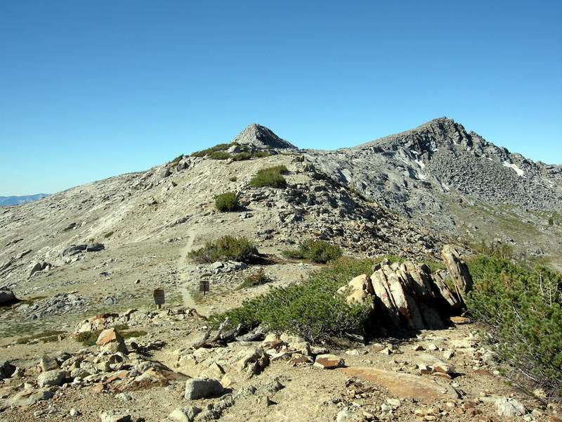 Post Peak is an interesting pass - the last 1/4 mile is along a ridge with stunning views!