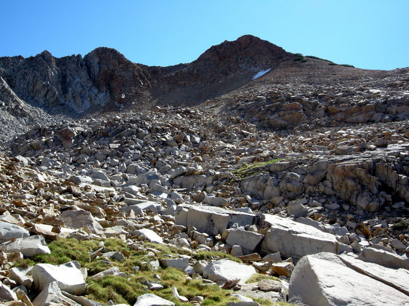 Typical High Sierra terrain and views - I love it up here!
