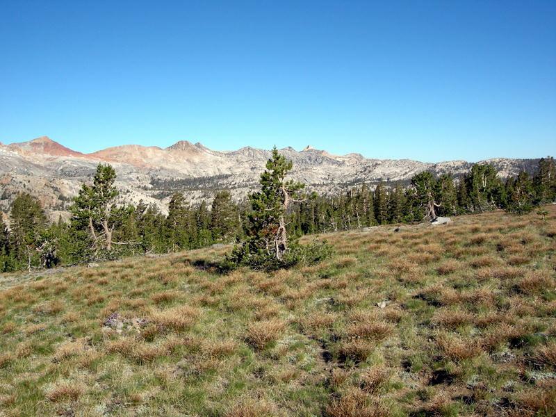 The Clark Range - Red Peak, Gray peak, and Mt Clark