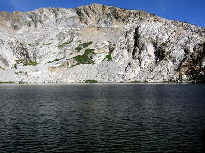 Sing Peak, across Upper Chain Lake