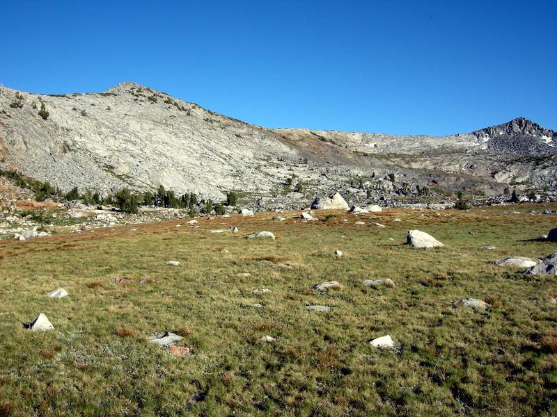 Post Peak Pass - next morning's destination