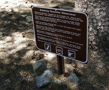 All the Yosemite backcountry regulations...