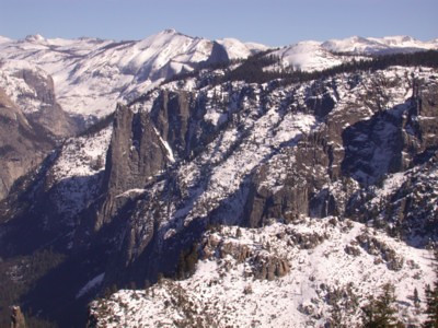 Half Dome and Valley from Dewey Point