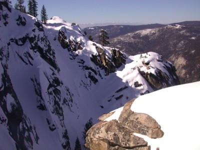 Cliffs at Dewey Point