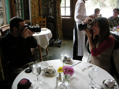 We went for brunch at the Ahwahnee