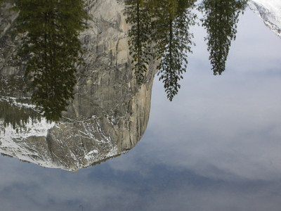 Basket dome, reflected