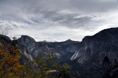 Half Dome, Mt Starr King, and Glacier Point