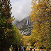 Fall Colors and Yosemite falls