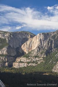 Yosemite Falls from Sierra Point