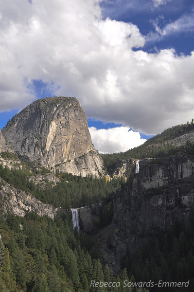 Liberty Cap, Vernal and Nevada Falls