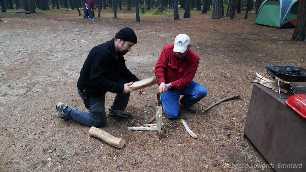 Men use tools. Grunt.