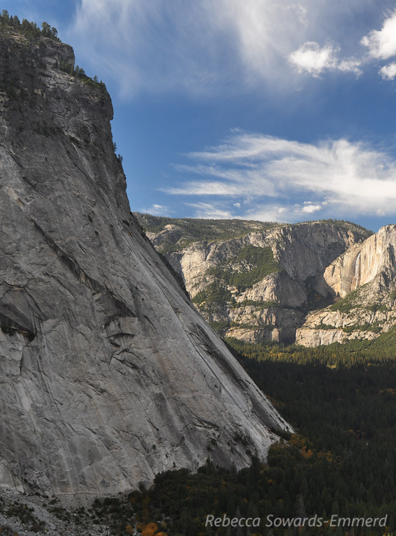Glacier Point is above us on the other side