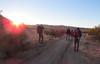 Sunrise, Blair Valley campground.