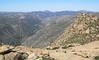 Hauser Canyon below.