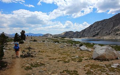 silver-pass-lake-hiker
