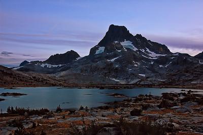 Mt. Banner at dusk